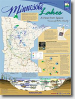 Minnesota Lake Water Clarity Poster