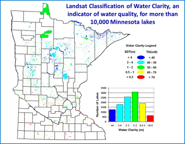 Landsat Classification of Water Clarity